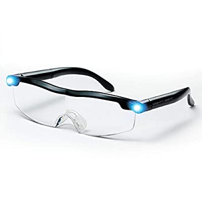 Mighty Sight - Wearable, Magnifying Eyewear with Built in Lights