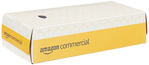 AmazonCommercial Facial Tissue Flat Box 100 Sheets per Box 30 Boxes