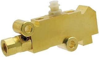 DEMOTOR PERFORMANCE GM Brass Finish Disc/Disc Proportioning Valve Master Cylinder Booster Gm Universal 350