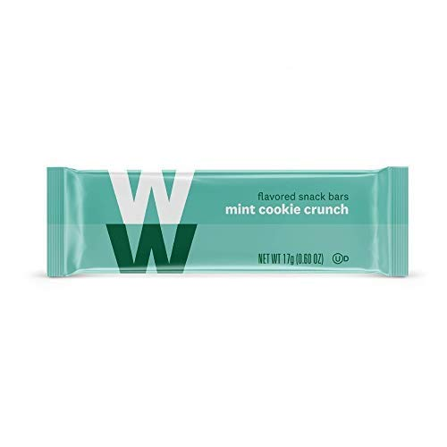 WW Mint Cookie Crunch Mini Bar - Snack Bar, 2 SmartPoints - 1 Box (24 Count Total) - Weight Watchers Reimagined