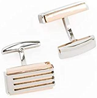 PAREJO CLV-0108 STAINLESS CUFFLINK FOR MEN