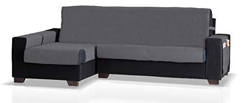 Bartali beschermer voor hoekbank met GEA ottomane links, grootte groot (275 cm.), kleur lood-grijs.