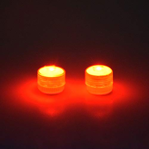 HUANRUOBAIHUO Drone Night Flight Lumière avec Batterie Fit pour DJI Mavic Air 2 / Mavic Mini/Mavic Pro/Air 1 / Mavic 2 Pro Zoom/FPV Combo Universal Quadrocopter Zubehör (Color : Red Bright)