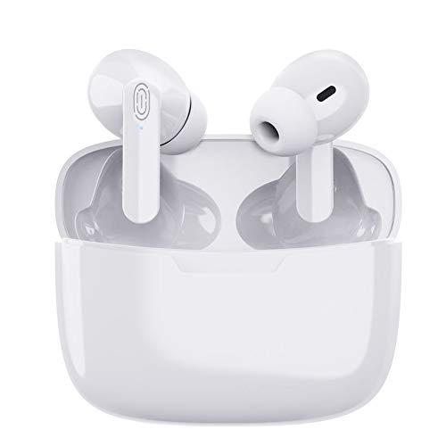 Auriculares Bluetooth 5.1 Auricular Inalámbrico Control Táctil con Graves Profundos...