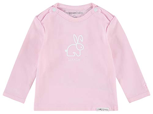 Noppies Noppies Baby-Mädchen G Tee ls Roos Langarmshirt, Rosa (Light Rose C092), 50