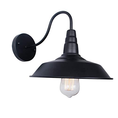 YHFX2 Amerikanische Wandlampe - Industrielle Windlampe Abdeckung Schmiedeeisen Wandlampe (Color : A)