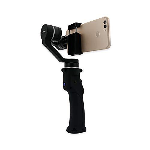 Una Tasca dimensionata 3 Assi Smartphone palmare Gimbal stabilizzatore w/Focus Pull & Zoom per iPhone XS Max XR X 8 Plus 7 6 SE Android Smartphone Samsung Galaxy S9 + S9 S8 + S8 S7