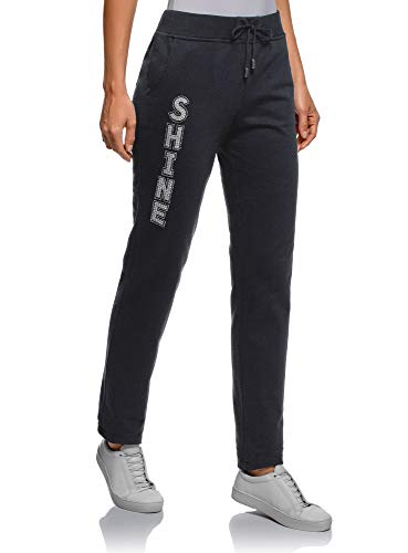 Oodji Ultra Mujer Pantalones de Punto con Cordones