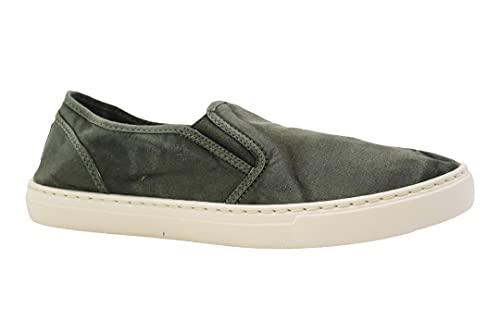 Cienta Chaussures Slip-on pour homme - Vert - vert, 42 EU EU