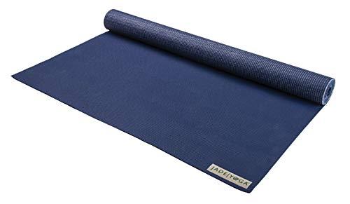 Jade Yoga Yogamatte für Reisen, Mitternachtsblau, 0,16 x 172 cm, 1 Stück