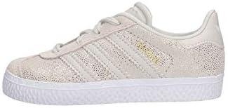 Adidas Gazelle I, Zapatillas de Deporte Unisex niño, Blanco (Ftwbla/Griuno/Ftwbla 000), 26 EU