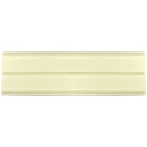 JEM Découpoir de Bandes, Plastique, Blanc, 9 x 2 x 25 cm