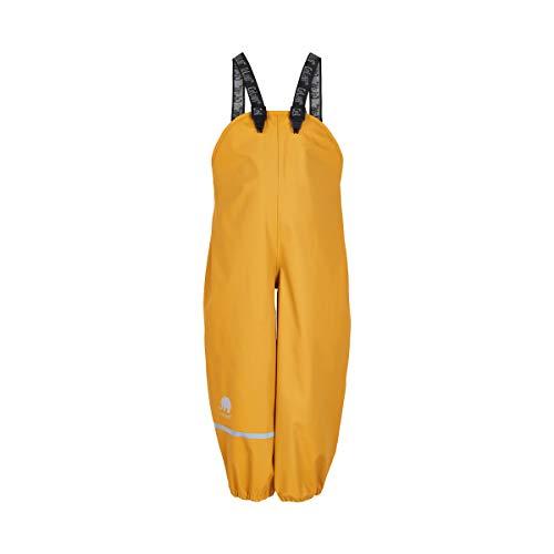 Celavi Mädchen Regenhose in viele Farben Regenjacke, Gelb (Mineral Yellow 372), (Herstellergröße:110)