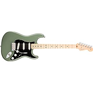 American Professional Stratocaster MN 3-Color Sunburst – Verde