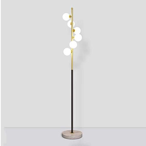LY88 staande lamp staande lamp, Nordic moderne woonkamer creatief glas bolvormige verticale tafellamp