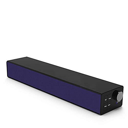 FACAI Lautsprecher Heim-Audio-Lautsprecher Soundbar Bluetooth-Subwoofer 360 ° Surround-Sound Drahtloser Multi-Mode 4.0 60-W-Hochleistungs-Heimkino-Lautsprecher mit 35 mm