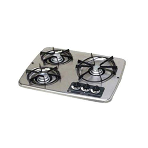 Atwood Mobile Products 56461 DVC3-SLR 3 Stainless Drop-in Burner Cover Fits DV 30
