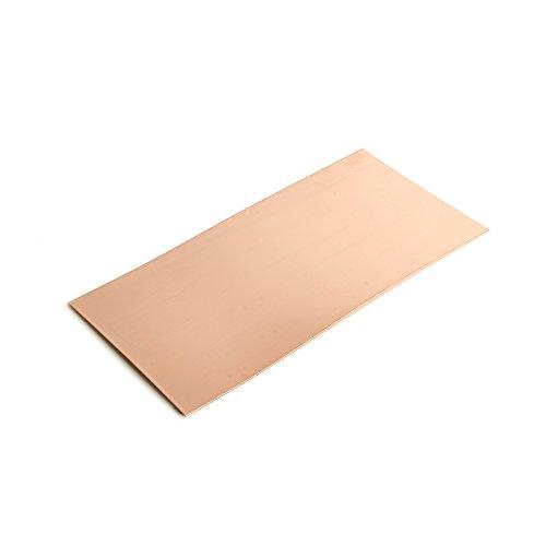 WireJewelry 30 Gauge 0.010 Dead Soft Copper Sheet Metal - 6x12 Inch