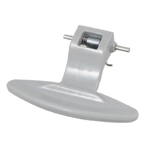 sourcingmap Manija de la puerta de la captura para puerta de plástico gris para máquina de lavar