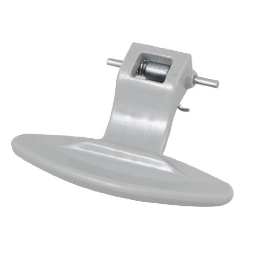uxcell Plastic Door Handle Latch for Front Load LG Washing Machine Gray