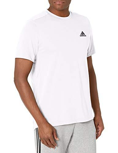 adidas mens FR Tee White/Black X-Small