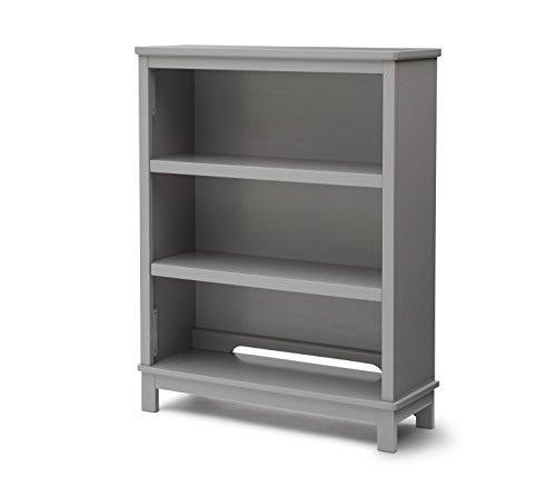 Delta Children Epic Bookcase/Hutch For Books and Toys - Grey