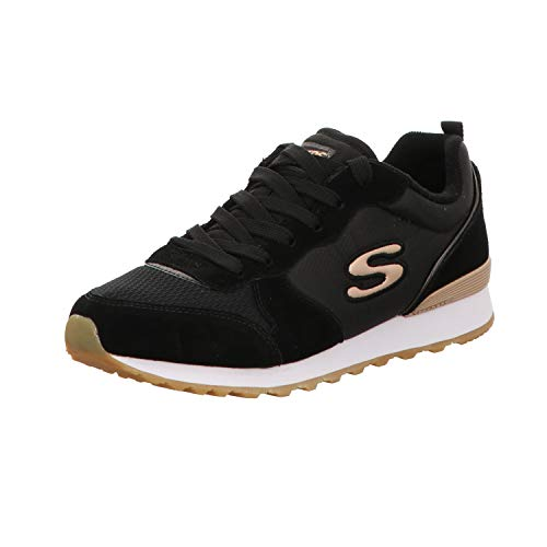 Skechers Retros Og 85, Women's Low-Top Sneakers, Black (Blk), 4 UK (37 EU)