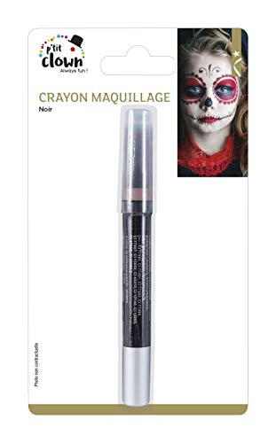 P'TIT CLOWN 84300 Crayon Maquillage - 3 g - Noir