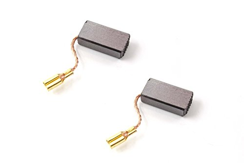 vhbw 2x escobillas de carbón, carbón para motor 5mm x 8mm x...