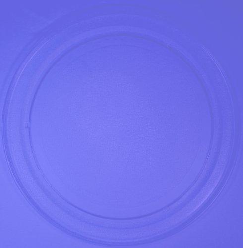 Mikrowellenteller / Drehteller / Glasteller für Mikrowelle # ersetzt Microstar Mikrowellenteller # Durchmesser Ø 36 cm / 360 mm # Ersatzteller # Ersatzteil für die Mikrowelle # Ersatz-Drehteller # OHNE Drehring # OHNE Drehkreuz # OHNE Mitnehmer