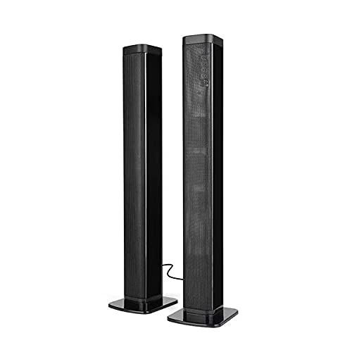 """Bluetooth Wireless Sound Bar Portable Soundbar for Home Theater Wireless Speakers 3D Surround Sound with Built-in Subwoofers for TV PC Phones Tablets with Remote Control 40W (37"""")"""