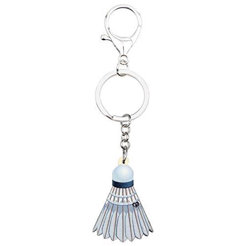 Schlüsselanhänger Schlüsselring Lustige Badminton Ball Schlüsselanhänger Schlüsselring Neuheit für Frauen Mädchen ss Zubehör