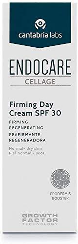 Endocare Cellage Firming Day Cream SPF30 - Crema Antiarrugas, Triple Acción Reafirmante, Antiedad, con Protección Solar, Pieles Normales y Secas, 50 ml