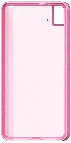 BQ Aquaris  E5s Schutzhülle Gummie rosa