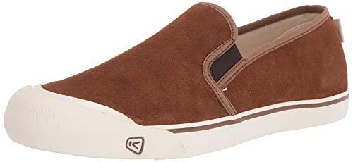 KEEN mens Coronado 3 Low Slip on Sneaker Hiking Shoe, Breen, 12 US