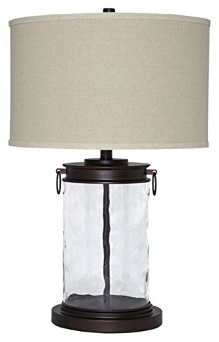 Signature Design by Ashley - Tailynn Glass Table Lamp -...