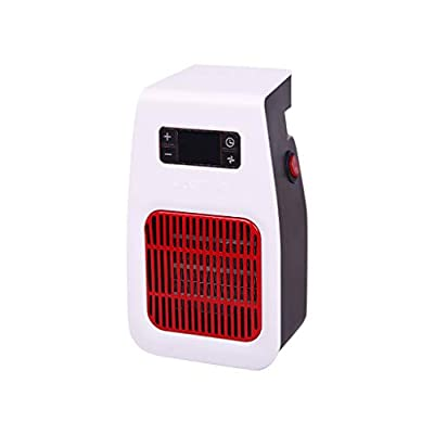 BXzhiri Portable Space Heater, Electric Heater Fan Room Space Heater Air Heating Winter Device Wall Warmer