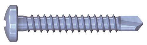 Reiser Threaded Screws 5 x 30 MM DIN 963 Pack of 50 Flat Galvanised Steel 00160//1