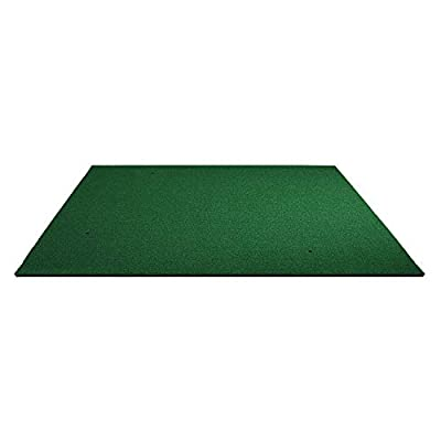 FRANKTECH Golf Mat 3D Commercial Golf Practice Mat for Hitting Driving Premium Turf Backyard Home Use Indoor Outdoor Mat for Pros & Beginners Rubber Tee Holder Included (5x5 ft)