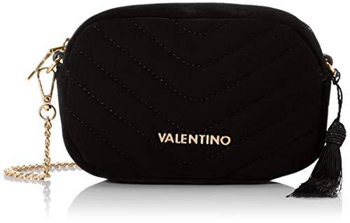 Mario Valentino Valentino by Damen Carillon Umhängetasche, Schwarz (nero), 5.5x12.5x18 cm
