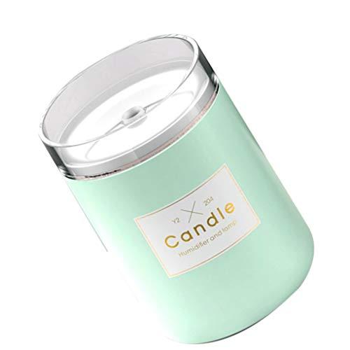 Qinghengyong 280 ml de Sonic humidificador Vela romántica luz Suave Essential USB difusor del Aceite del Coche del purificador Fabricante de la Niebla