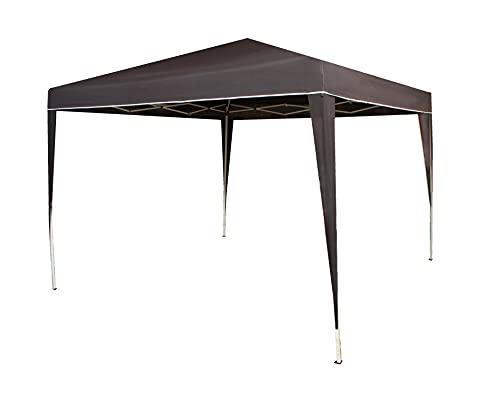 Carpa pergola Plegable 3x3m Ajustable en Altura Multifuncional Playa, Terrazas, Camping Jardin (Azul Marino)