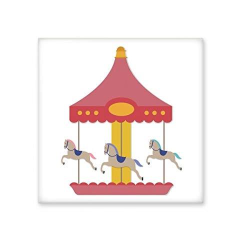 DIYthinker Kleurrijke carrousel musement Park Patroon Keramische Bisque Tegels Badkamer Decor Keuken Keramische Tegels Wandtegels Medium