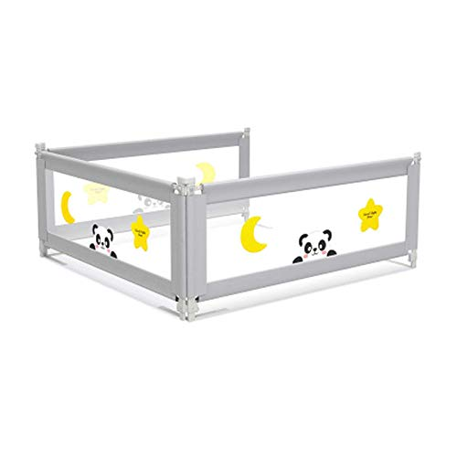 Kids Cot Bed Rail Cartoon Vertical Lifting Bed Guard Safety Protection Guard Anti-Fall Bed Guardrail for Toddler Baby Children Portable Bed Rail Long Kingsize Fold Down Safety