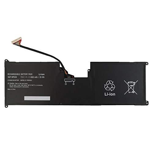 7XINbox 7.5V 3800mAh 29Wh VGP-BPS39 Ersatz Akku Batterie für Sony VAIO Tap 11 Tablet SVT11213CXB SVT11213CGW SVT11215CGB/W SVT11219SCW SVT11215CW