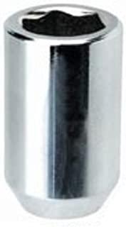 White Knight 2807-4 Chrome Tuner Acorn Lug Nut with Key - 4 Piece
