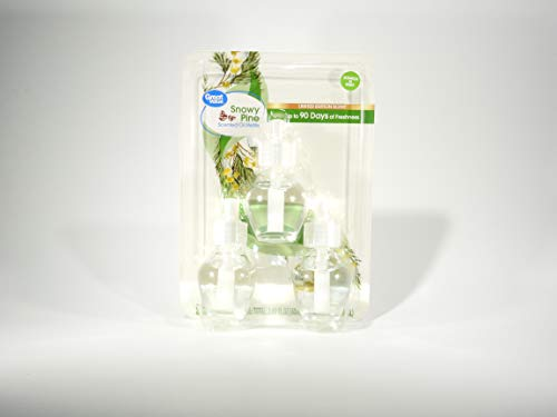 Plug-Ins Scented Oil Freshener Refill (Snowy Pine)
