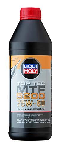 Liqui Moly 20845 - Aceite de Transmisión, Top Tec, MTF, 5200, 75W-80, 1 L