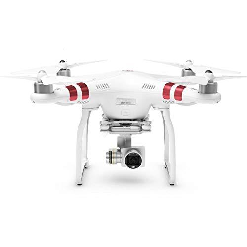 DJI Phantom 3 Standard Quadcopter Drone 2.7K HD Video Camera, White (Renewed)