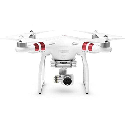 DJI Phantom 3 Standard Quadcopter Drone 2.7K HD Video Camera, White (Renewed)